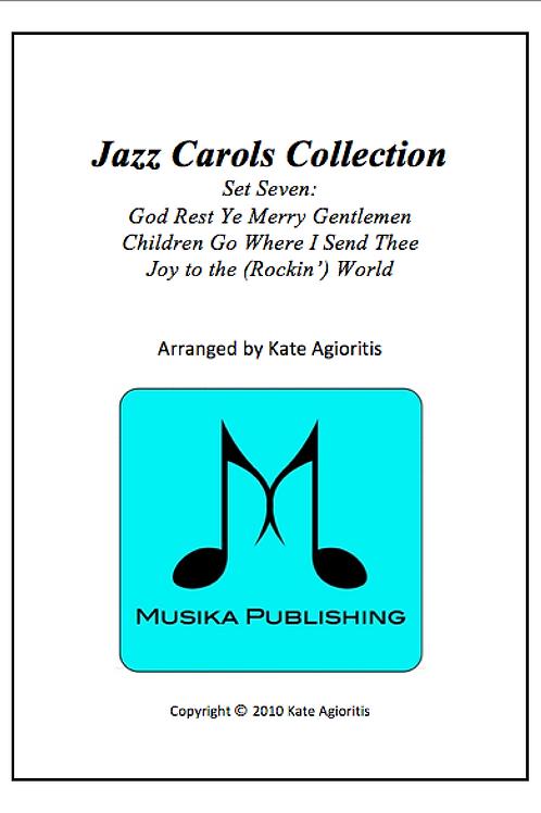 Jazz Carols Collection Set 7 - Clarinet Quartet