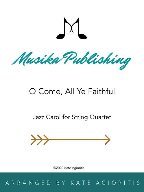 O Come All Ye Faithful (in 5/4) - String quartet
