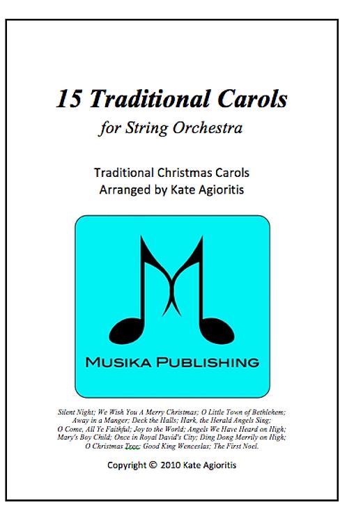 15 Traditional Carols - String Orchestra