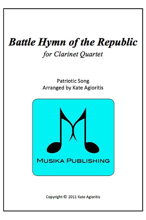 Battle Hymn of the Republic (Jazz) - Clarinet Quartet