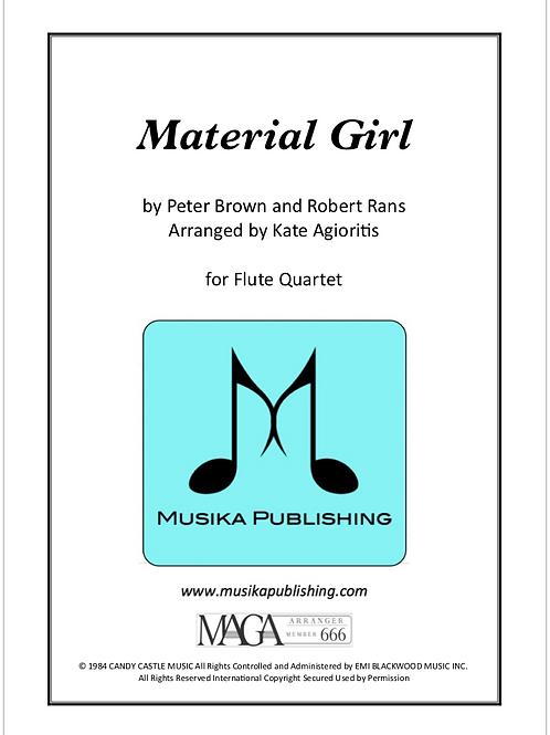 Material Girl - Flute Quartet