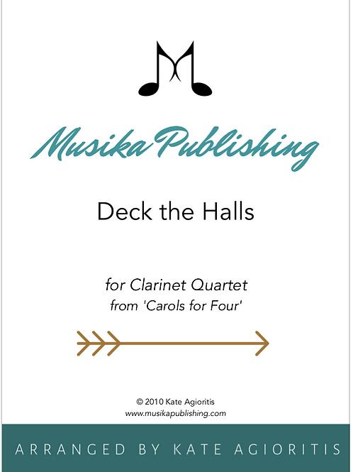 Deck the Halls - Clarinet Quartet