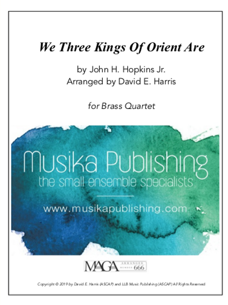 We Three Kings of Orient Are - Brass Quartet