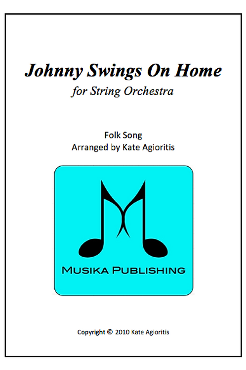 Johnny Swings On Home - String Orchestra