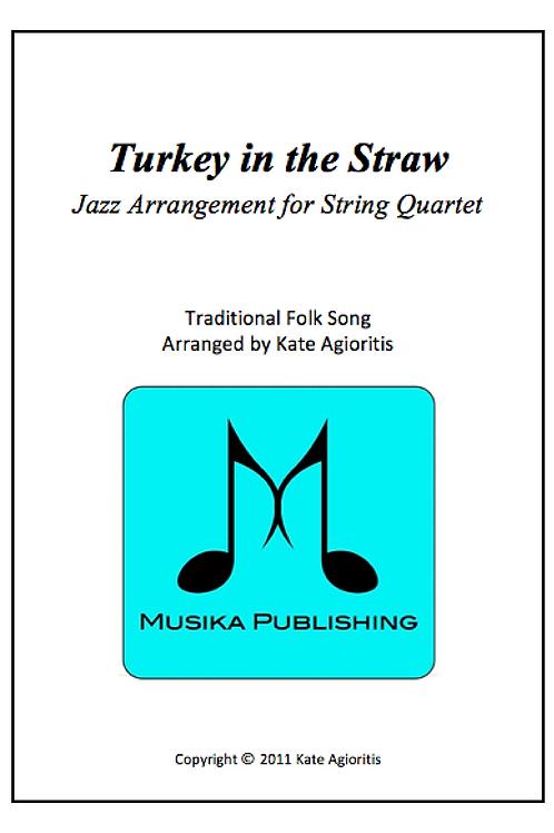 Turkey in the Straw (Jazz) - String Quartet