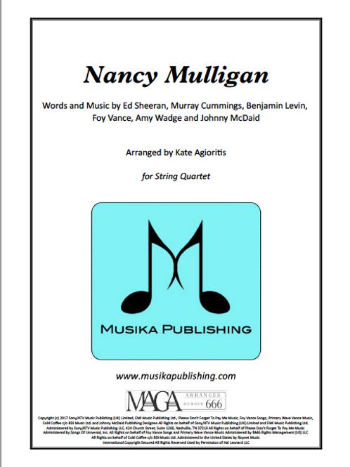 Nancy Mulligan (Ed Sheeran) - String Quartet