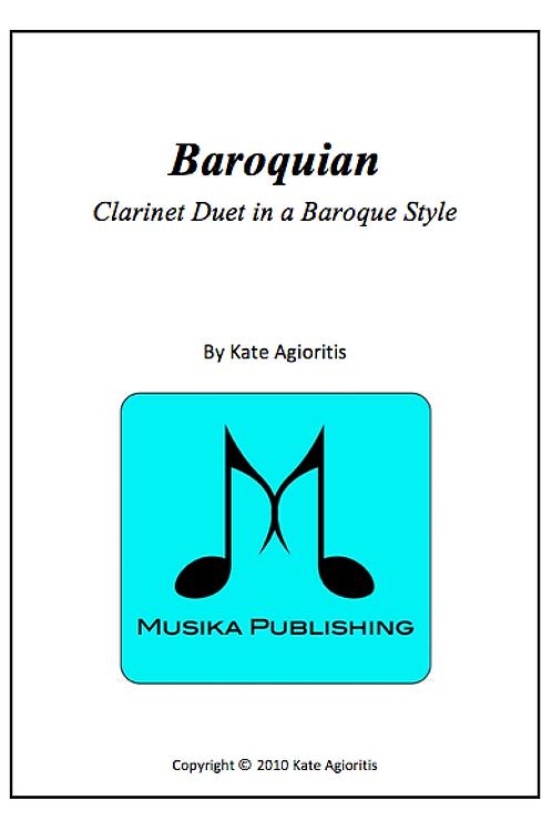 Baroquian - Clarinet Duet