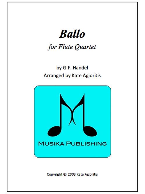 Ballo - Flute Quartet