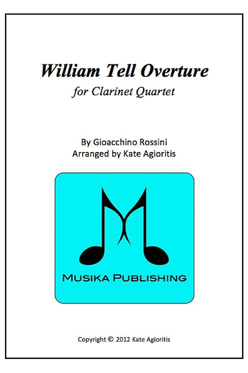 William Tell Overture - Clarinet Quartet