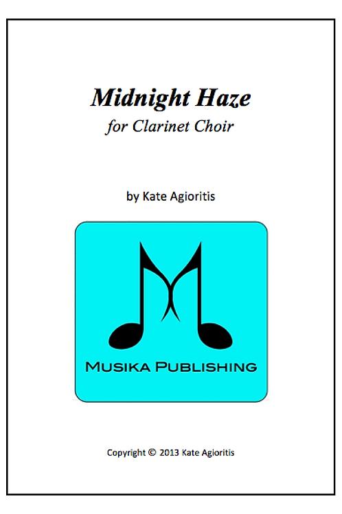 Midnight Haze - Clarinet Choir
