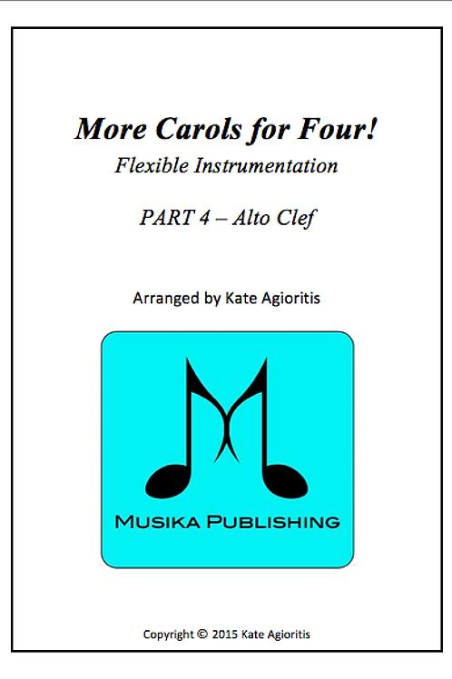 More Carols for Four Part 4 - Alto Clef