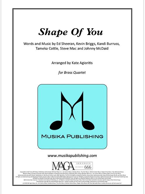 Shape of You - Ed Sheeran - Brass Quartet