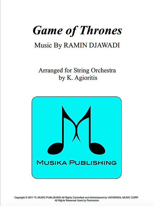 Game of Thrones - String Orchestra