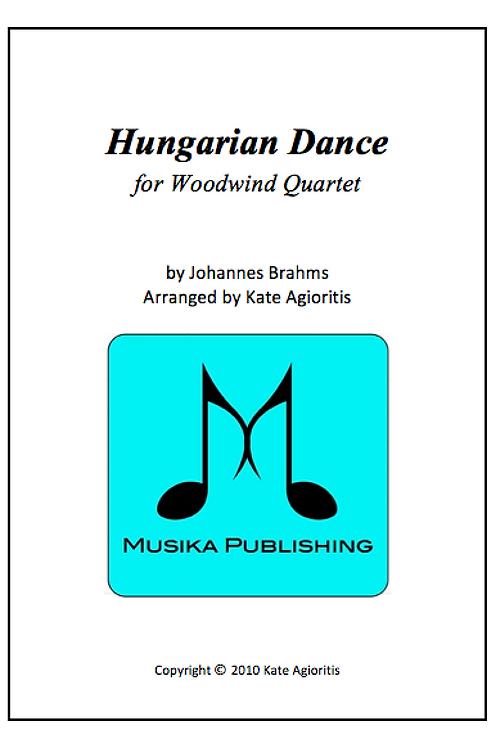 Hungarian Dance (Jazz) - Woodwind Quartet