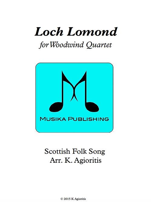 Loch Lomond - Woodwind Quartet
