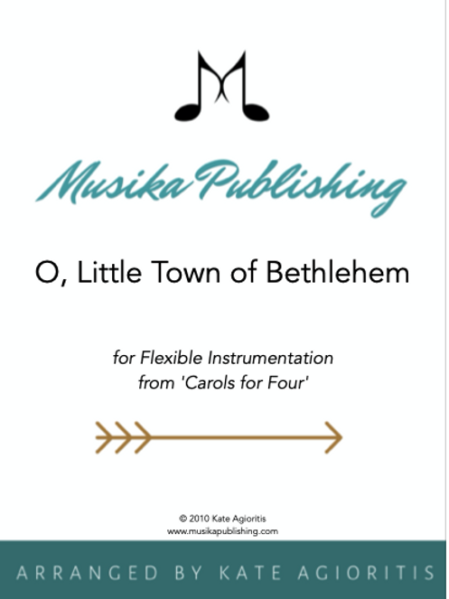 O Little Town of Bethlehem - Flexible Instrumentation