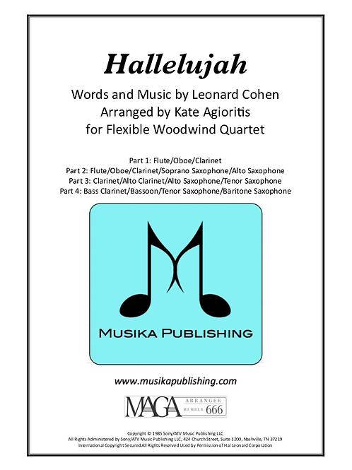 Hallelujah - Flexible Woodwind Ensemble