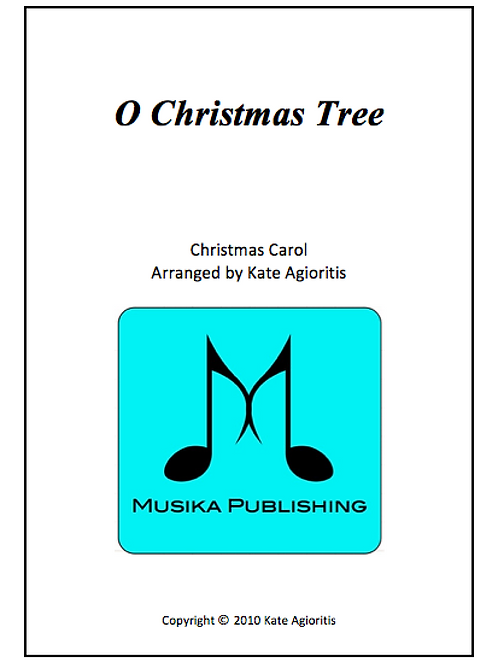 O Christmas Tree - Clarinet Quartet