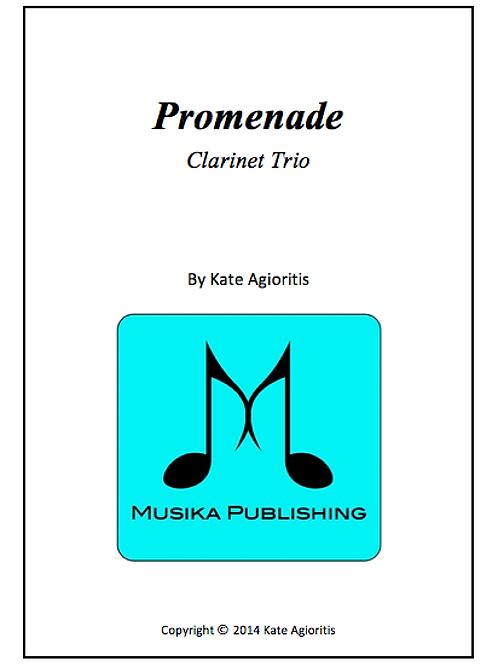 Promenade - Clarinet Trio