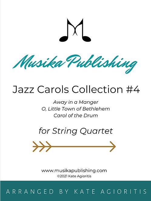 Jazz Carols Collection Set 4 - String Quartet