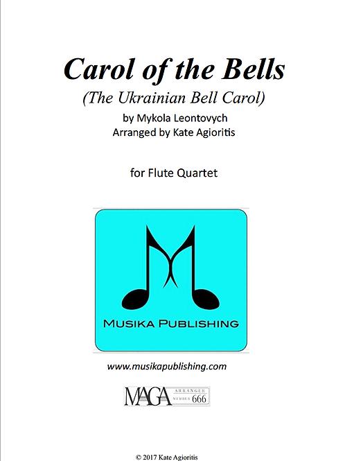 Carol of the Bells (Ukrainian Bell Carol) - Flute Quartet