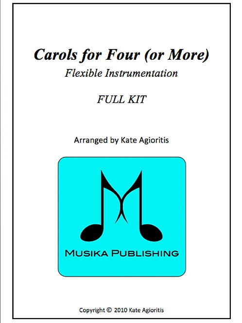 Carols for Four (or More) Full Kit - Score and all parts