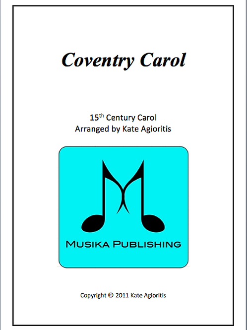 Coventry Carol - String Quartet