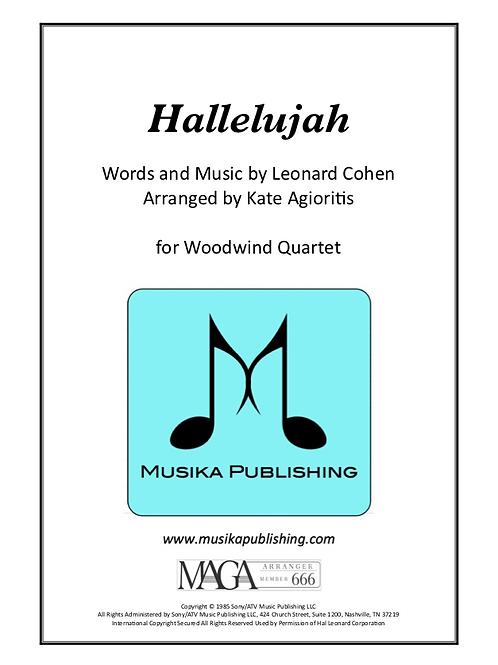 Hallelujah - Woodwind Quartet