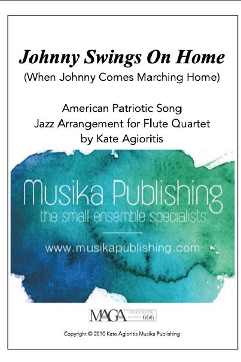 Johnny Swings On Home - Flute Quartet