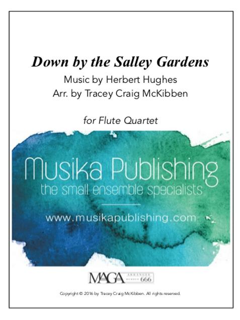 Down by the Salley Gardens - Flute Quartet