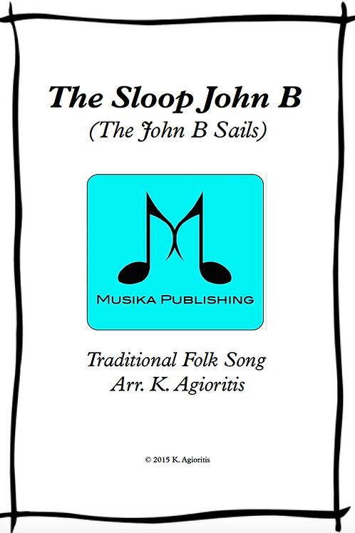 The Sloop John B - Saxophone Quartet