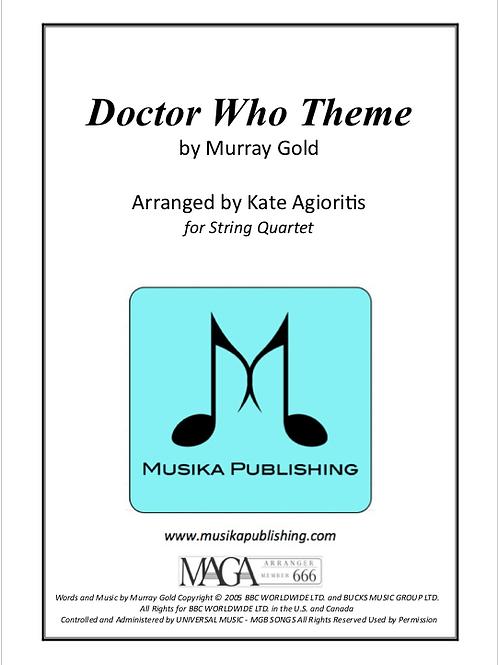 Doctor Who Theme - String Quartet