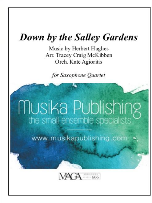 Down by the Salley Gardens - Saxophone Quartet