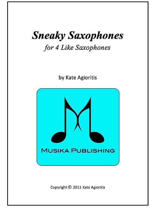 Sneaky Saxophones - Saxophone Quartet (4 Like)