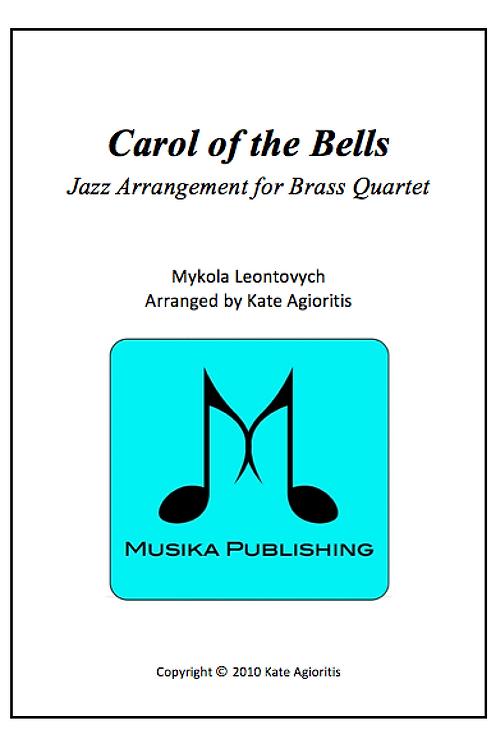 Carol of the Bells (Jazz) - Brass Quartet