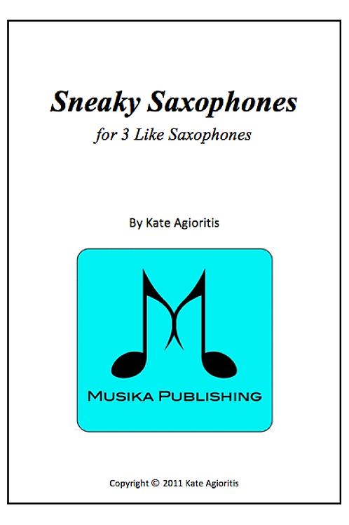 Sneaky Saxophones - Saxophone Trio (3 Like)