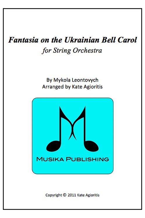 Fantasia on the Ukrainian Bell Carol - String Orchestra