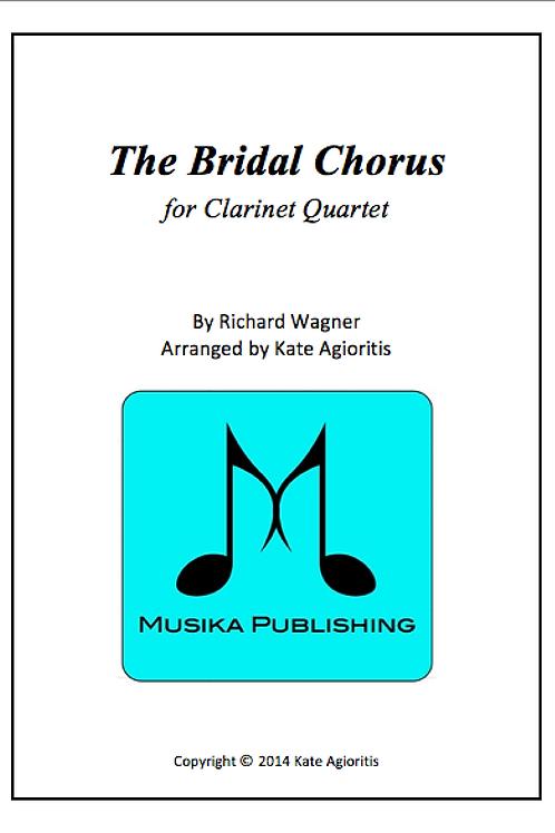 The Bridal Chorus - Clarinet Quartet