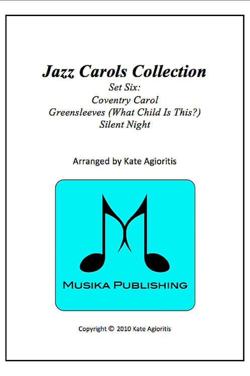 Jazz Carols Collection Set 6 - String Quartet
