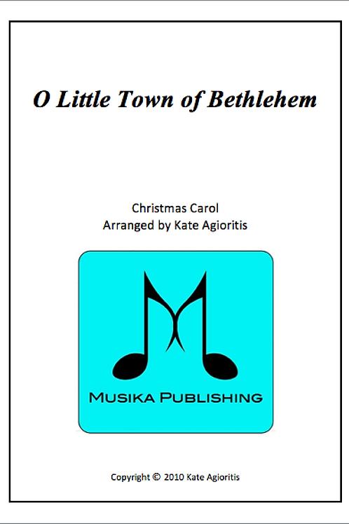 O Little Town of Bethlehem - Saxophone Quartet