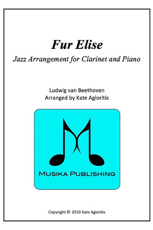 Fur Elise (Jazz) - Clarinet and Piano