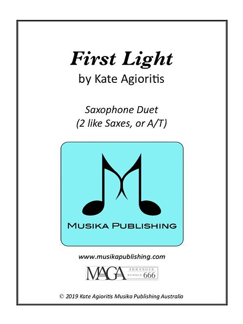 First Light - Saxophone Duet