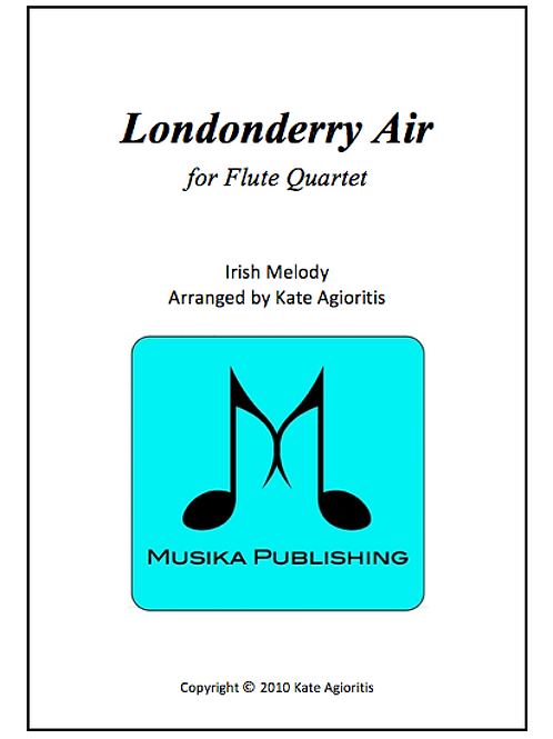 Londonderry Air - Flute Quartet