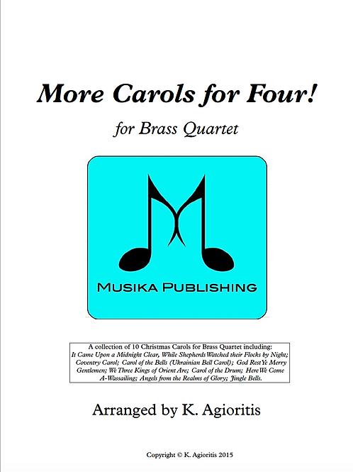 More Carols for Four - Brass Quartet