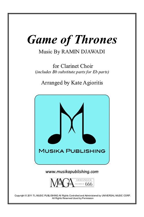 Game of Thrones - Clarinet Choir