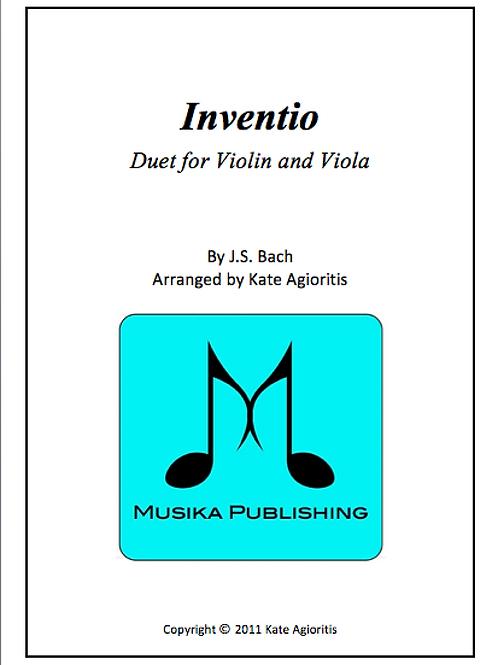Inventio - Violin/Viola Duet