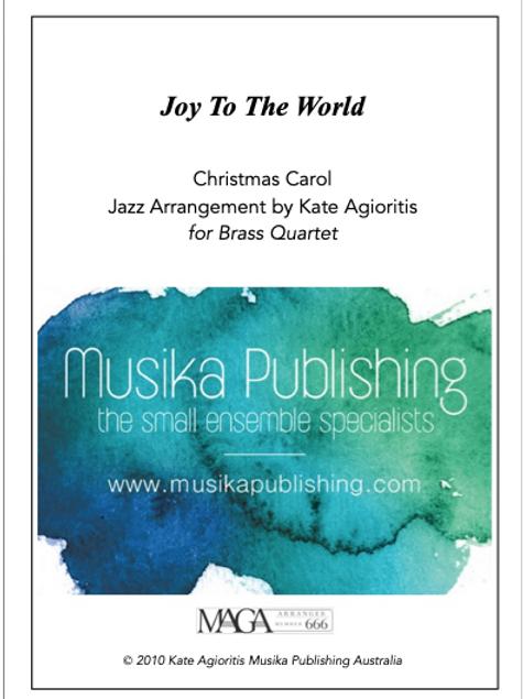 Joy to the World - Jazz Arrangement - Brass Quartet