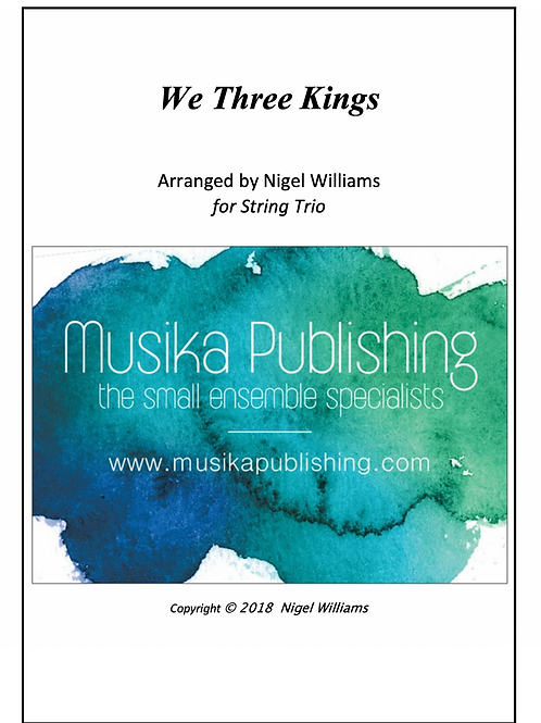 We Three Kings - String Trio