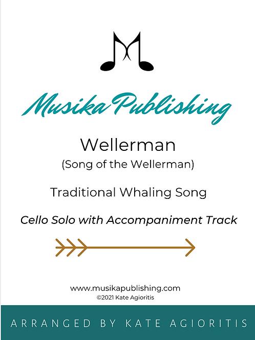 Wellerman - Cello Solo with Accompaniment Track
