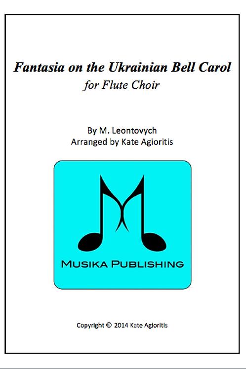 Fantasia on the Ukrainian Bell Carol - Flute Choir